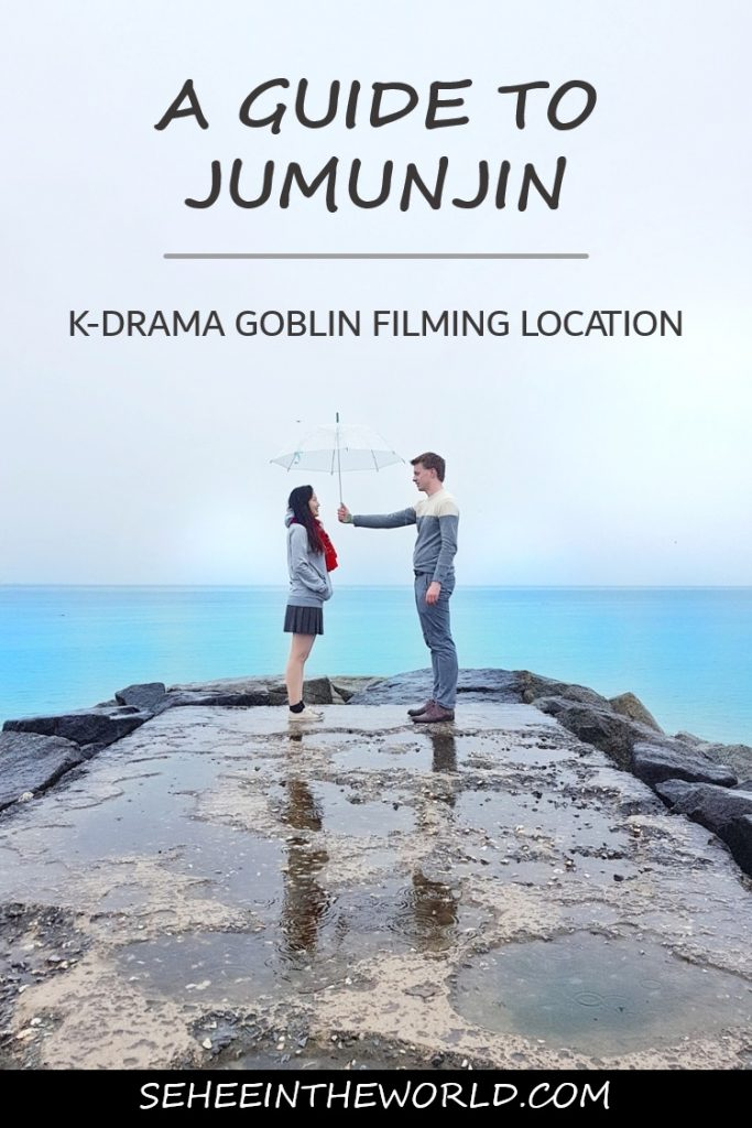 day trip to Jumunjin, the lovely filming location of goblin - Sehee in the World - pinterest
