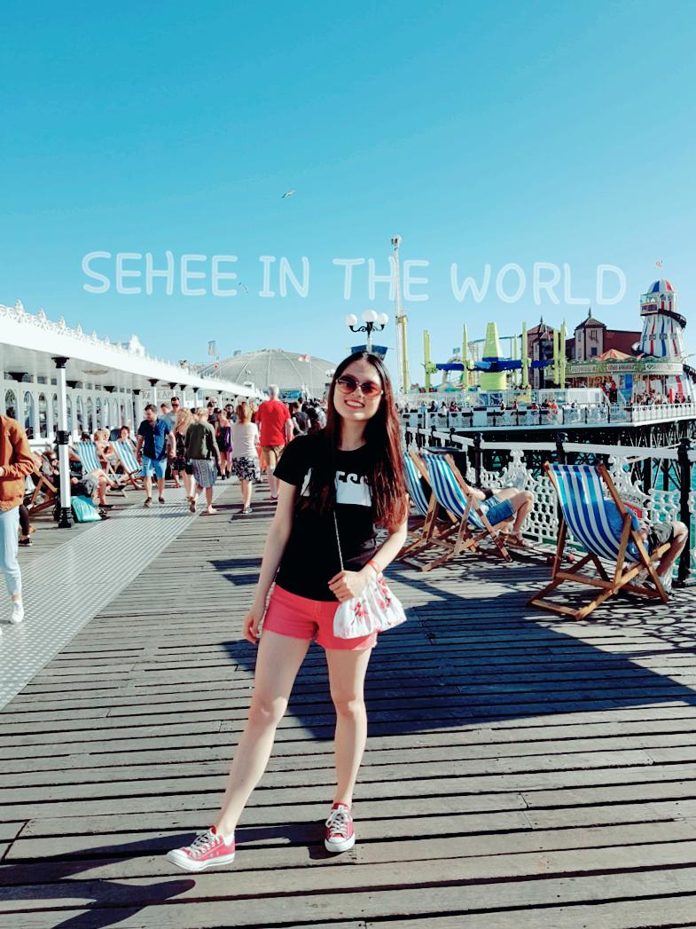 Brighton Pier, Theme park, beach