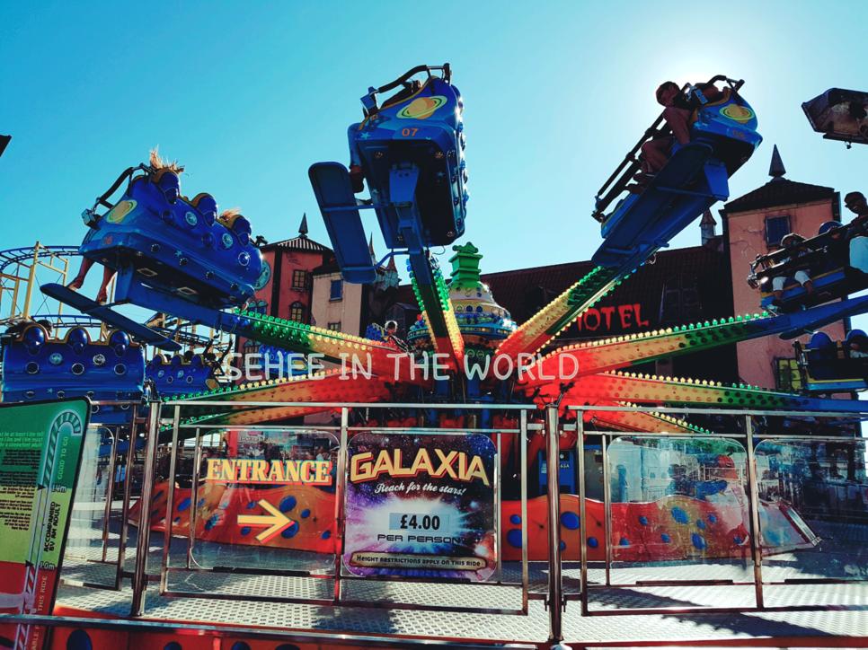 Brighton Pier, Galaxia, Theme park