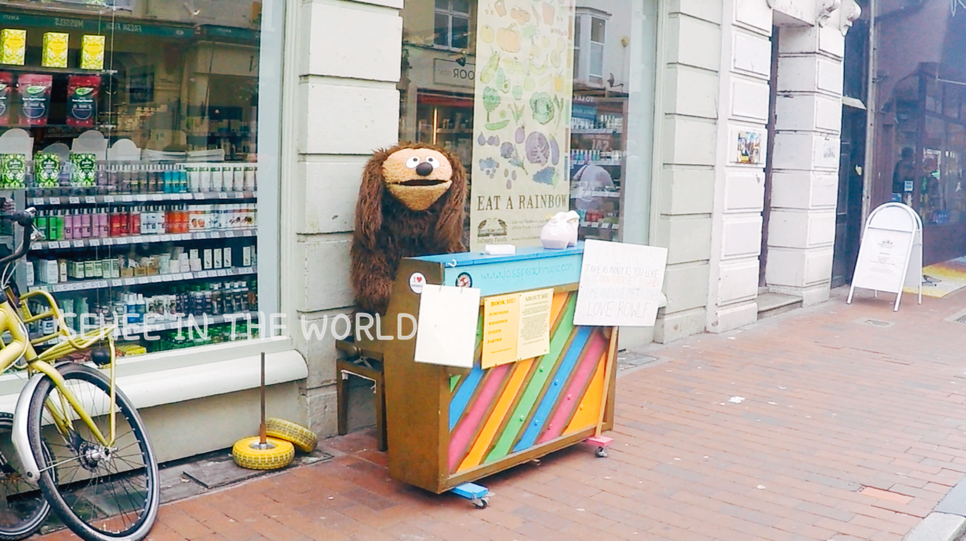 Musician, Busking, Brighton