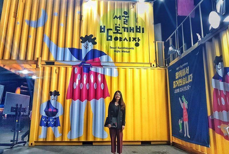 Seoul Bamdokkaebi Night Market - Banpo Hangang Park - Sehee in the World
